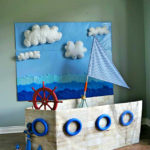 Life Size Boat Photo Booth